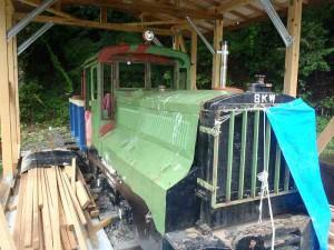 遠山森林鉄道 機関車