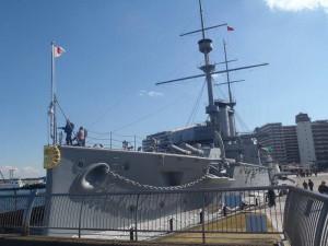 記念艦「三笠」