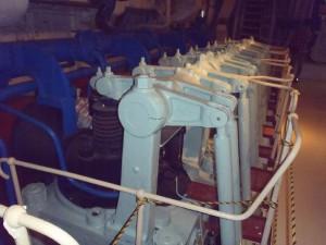 氷川丸のエンジン