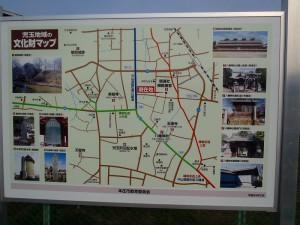 本庄地域の文化マップ