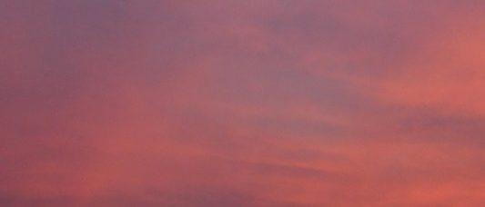 下島の夕焼け 2016年6月18日撮影
