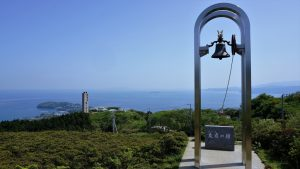⑭友逢の鐘と真鶴半島