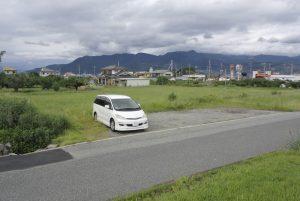 甲斐国分尼寺跡 駐車場