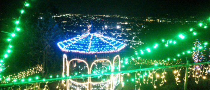 松田山のイルミネーション 2015年11月30日撮影