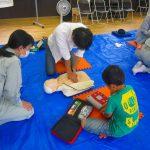 6月11日防災部AED訓練