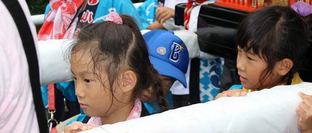 子ども神輿2017年7月23日