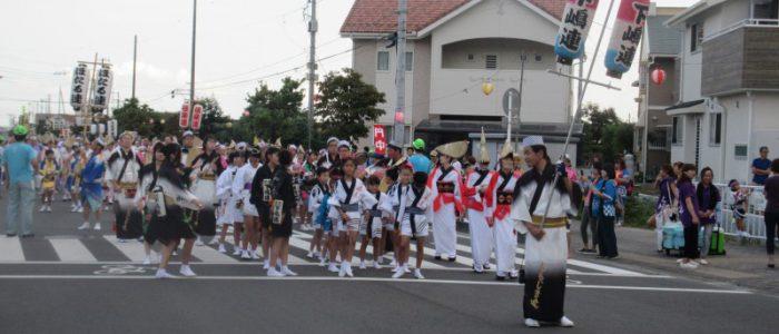 開成町阿波踊り 2017年9月9日