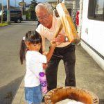 下島文化祭(2)餅つきなど