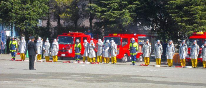 2018年1月13日 消防出初式