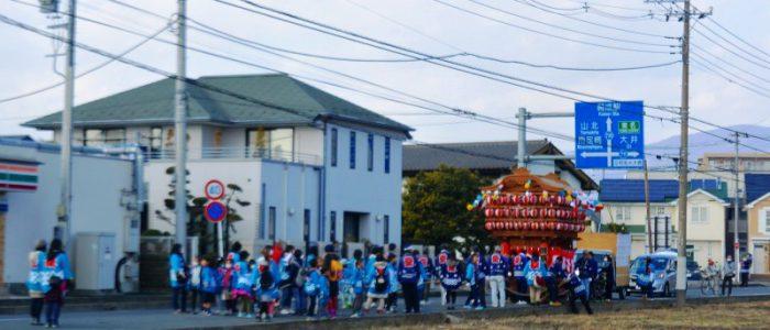 2018年1月20日 山車行列祭