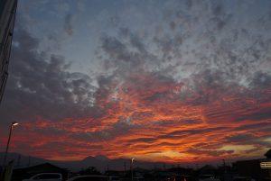 下島の夕焼け 2018年5月17日撮影