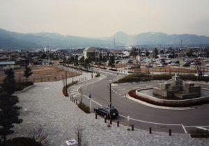 開成駅西口 平成10年2月