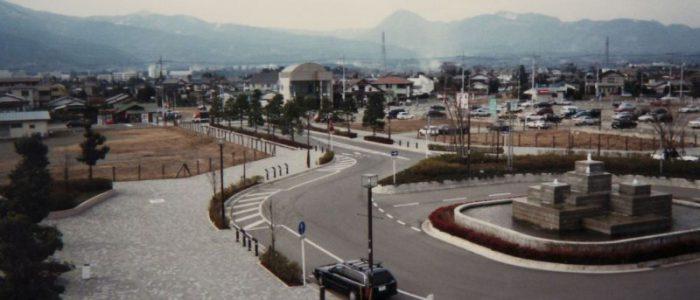 開成駅 西口 平成10年2月