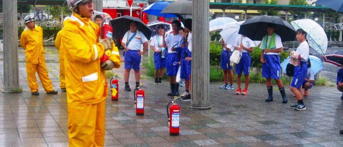 2018年9月2日 開成町統一防災訓練
