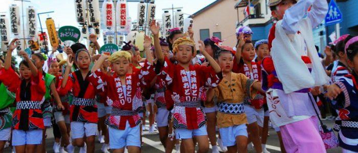 2018年9月9日 開成阿波踊り