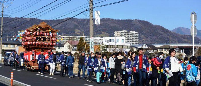 2019年1月19日 山車行列祭