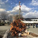 2020年1月11日(土)下島道祖神祭り(どんど焼き)