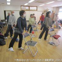 2020年2月5日 福祉部の活動 筋力UPのための運動教室